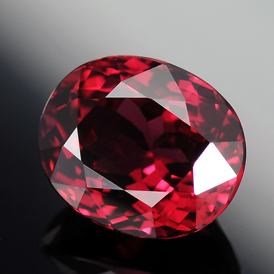 100% Natural Top Quality Best Red Color Spinel Oval faceted Gemstone 2.14 Ct