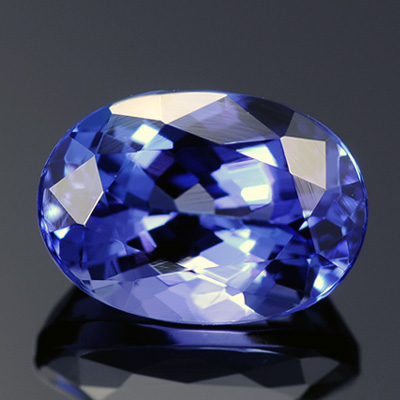 Great Quality Intense AAA violetish Blue Color Natural Tanzanite Loose Gemstone 2.50 Ct