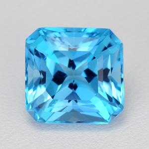 Natural swiss blue topaz. Weight - 4.39 Ct