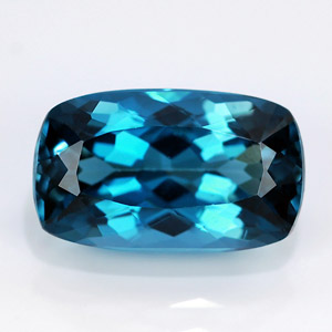 Natural london blue topaz 4.83 Ct
