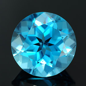 Loose Natural Round cut Topaz