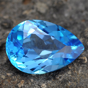 Natural Swiss blue Topaz 6.71 Ct