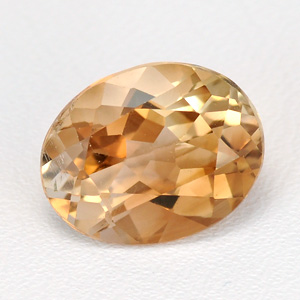Natural Champagne Topaz 3.03 Ct Oval