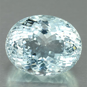 Huge natural sky blue topaz clean gemstone