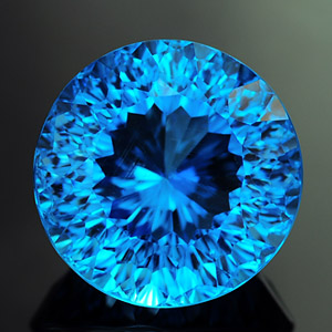 Natural Millennium cut Topaz 9.83 Ct