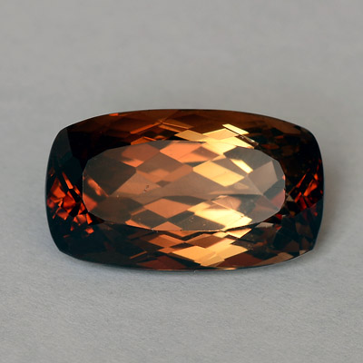 Natural Cognac colored Topaz 15.40 Ct