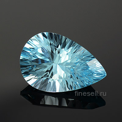 Natural Sky blue topaz