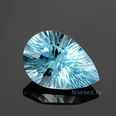 Loose ready for set natural sky blue topaz