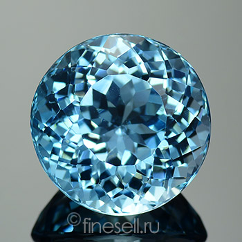Natural Sky blue topaz pear cut - 14.79 Ct