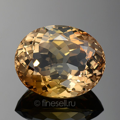 Natural light brown topaz - 14.31 Ct
