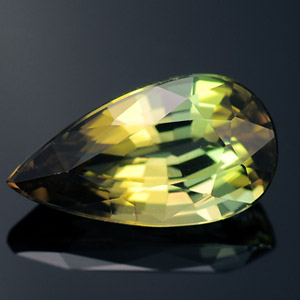 Natural Yellow Green Tourmaline loose gem 1.89 Ct