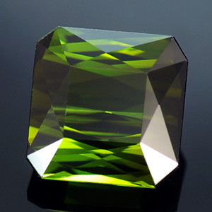 Natural Green Tourmaline Emerald Cut 4.27 Ct