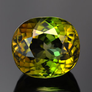 Best Quality Natural Top Yellowish-green Tourmaline gem 4.34 Ct