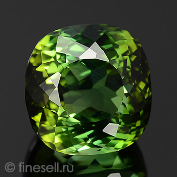 6.74 Ct. Huge and Clean Green Color Natural Certified Tourmaline