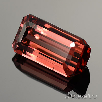 3.10 Ct, Rare Pinkish Peach Tanzanian Natural Tourmaline