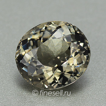 Stunning VS Clean Silver Gray with Yellow Undertone Loose Natural Tourmaline