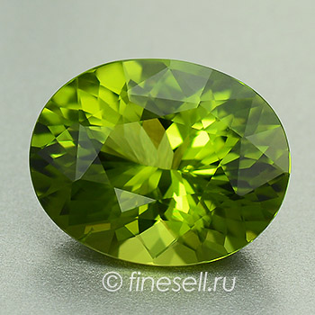 Exquisite Portuguese Oval Cut Green True Chrome Tourmaline 2.73 Ct