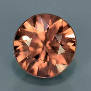 Natural imperial peach Zircon 1.11 Ct