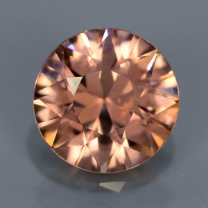 Natural loose Champagne imperial zircon 1.15 Ct