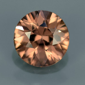 Natural loose imperial zircon gemstone 1.17 Ct