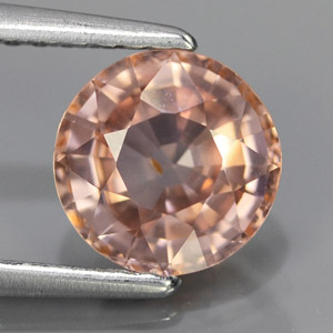 Natural imperial pink zircon untreated 1.93 Ct