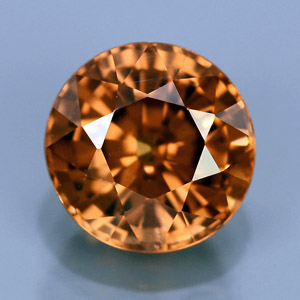 Natural imperial zircon 2.71 Ct